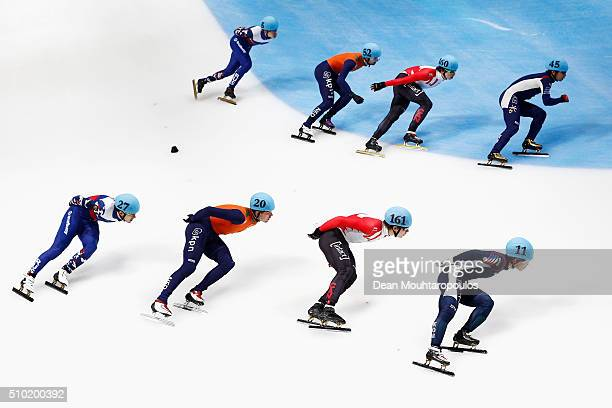 Dmitry Migunov of Russia Freek Van Der Wart of the Netherlands Semen Elistratov of Russia Itzhak De Laat of the Netherlands Alexander Fathoullin of...