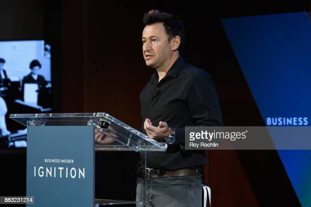 Dmitry Shapiro CEO and cofounder of GoMeta speaks onstage at IGNITION Future of Media at Time Warner Center on November 29 2017 in New York City
