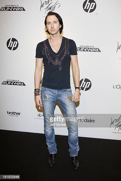 91584789e47a Dmitry Sholokhov attends the Project Runway Season 10 Wrap Party at Lord  Taylor on September 5