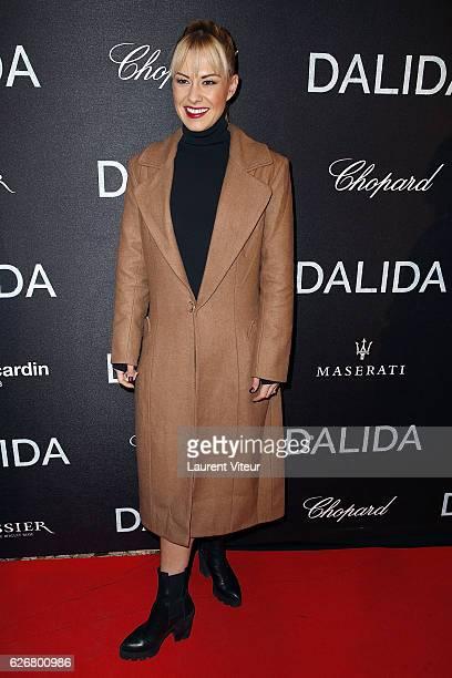 Dnacer Katrina Patchett attends Dalida Paris Premiere at L'Olympia on November 30 2016 in Paris France