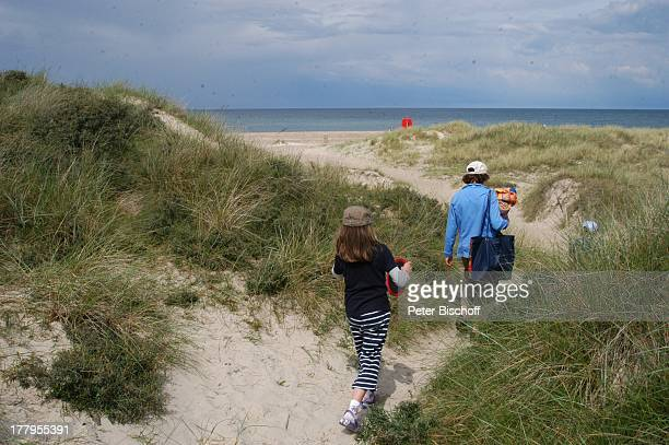 Dünen am Strand Svinklov Jütland Dänemark Europa Nordsee Reise