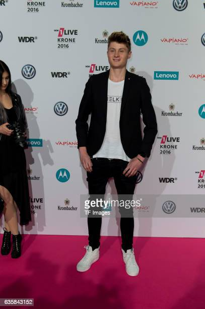 Dner attends the 1Live Krone at Jahrhunderthalle on December 1 2016 in Bochum Germany