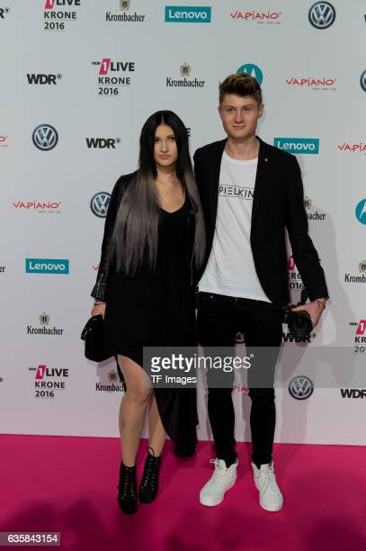 Dner attends the 1Live Krone at Jahrhunderthalle on December 1, 2016 in Bochum, Germany.
