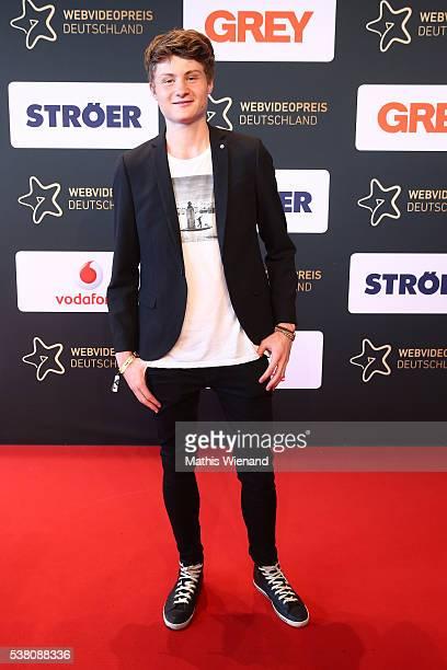 Dner attends the Webvideopreis Deutschland 2016 at Castello on June 4, 2016 in Duesseldorf, Germany.
