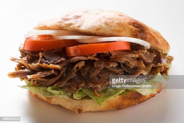 a d??ner kebab - dner stock-fotos und bilder