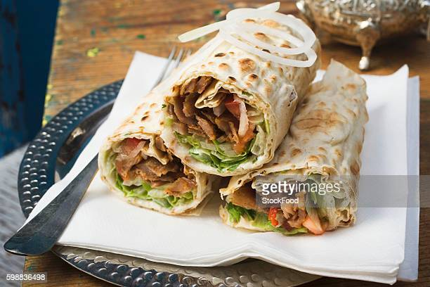 D??ner wraps from Turkey