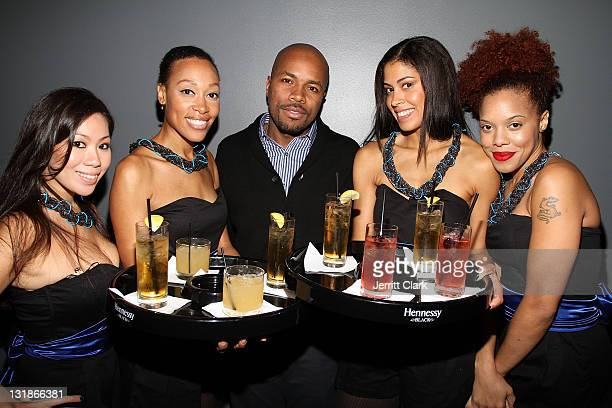 Nice attends his Hennessey Black party to celebrate DJ DNice signing to Roc Nation DJ's at The Cooper Square Hotel on November 16 2010 in New York...