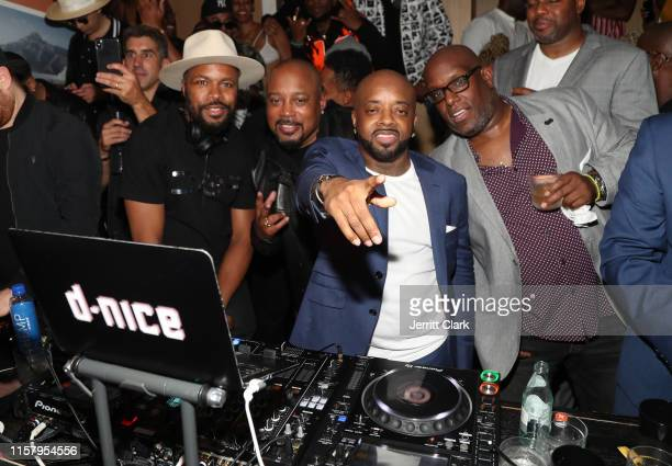 Nice Daymond John and Jermaine Dupri attend The 9th Annual Mark Pitts Bystorm Ent Post BET Awards Celebration at Bootsy Bellows on June 23 2019 in...