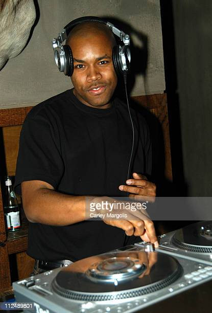 Nice during DJ DNice Spins at Bunny Chow Tuesdays at Cain March 22 2005 at Cain in New York City New York United States