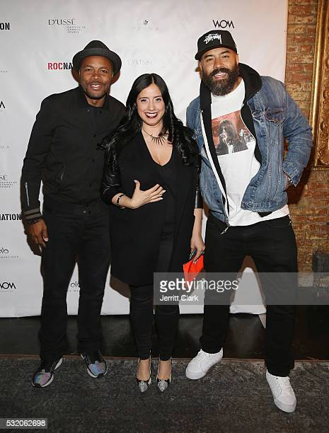 Nice Laura Stylez and Ebro Darden attend Angie Martinez My Voice A Memoir book launch party Angie Martinez My Voice A Memoir book launch party on May...