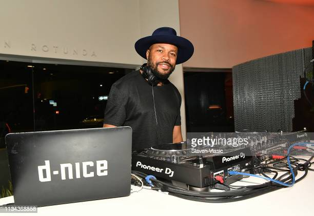 Nice performs at afterparty for HBO's Native Son screening at Guggenheim Museum on April 1 2019 in New York City