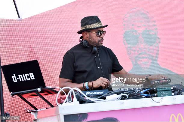 Nice performs at day one of the Pool Groove sponsored by McDonald's during the 2017 BET Experience at Gilbert Lindsey Plaza on June 23 2017 in Los...
