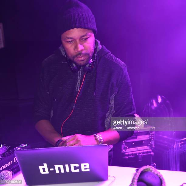 Nice plays at the BET Twenties produced by Lena Waithe Screening party during the Sundance Film Festival on January 27 2020 at Park City Live in Park...