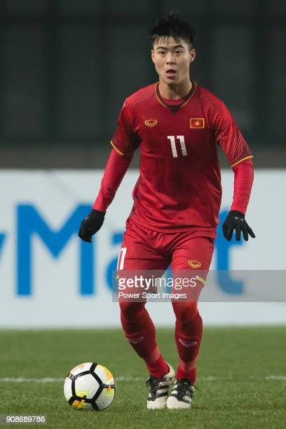 Do Duy Manh of Vietnam in action during the AFC U23 Championship China 2018 Quarterfinals match between Iraq and Vietnam at Changshu Stadium on 20...