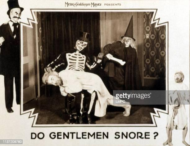 Do Gentlemen Snore lobbycard Max Davidson 1928