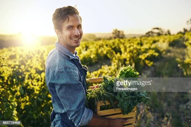 Ich tue es aus Liebe zur Landwirtschaft