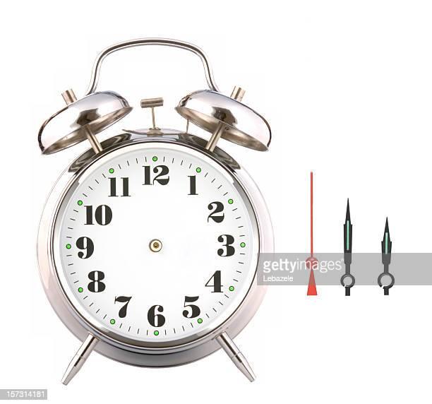 Bricolaje reloj despertador.
