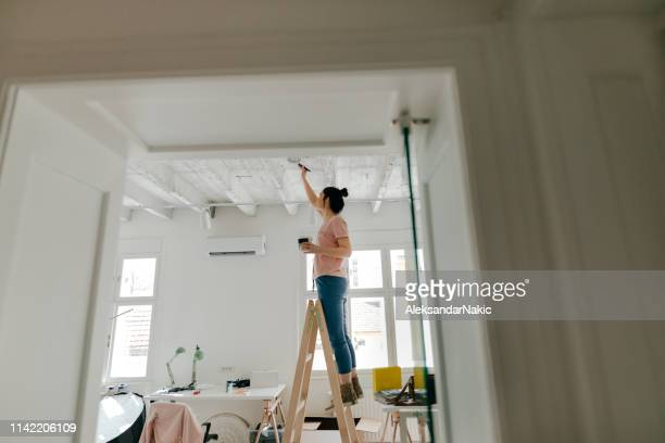 do it yourself - ceiling stock pictures, royalty-free photos & images
