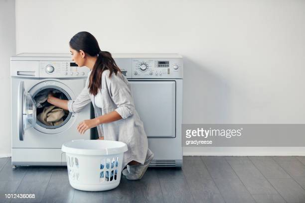 i do my laundry once a week - appliance stock pictures, royalty-free photos & images