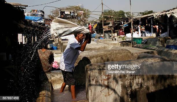 I do my laundry through laundrymen or Dhobi as called in India Mumbai has the largest manned laundry washing area called Dhobi ghat
