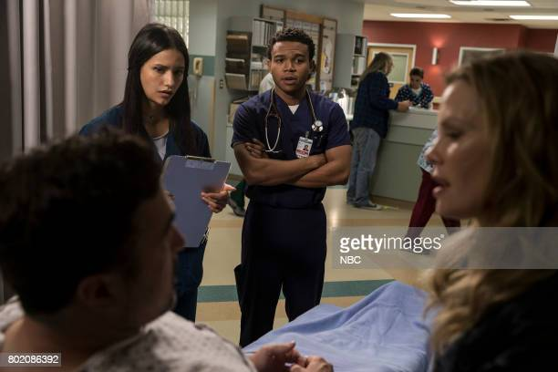 SHIFT 'Do No Harm' Episode 403 Pictured Preston James Hillier as Alan Apone Tanaya Beatty as Shannon Rivera Robert Bailey Jr as Paul Cummings Sarah...