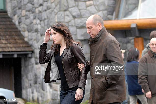 WOMAN 'Do Not Disturb' Episode 109 Pictured Michelle Ryan as Jaime Sommers Miguel Ferrer as Jonas Bledsoe