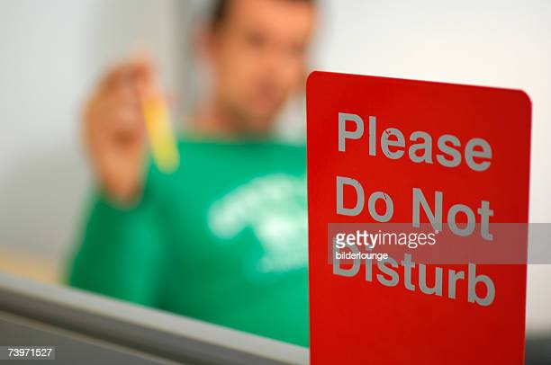 do not disturb office sign