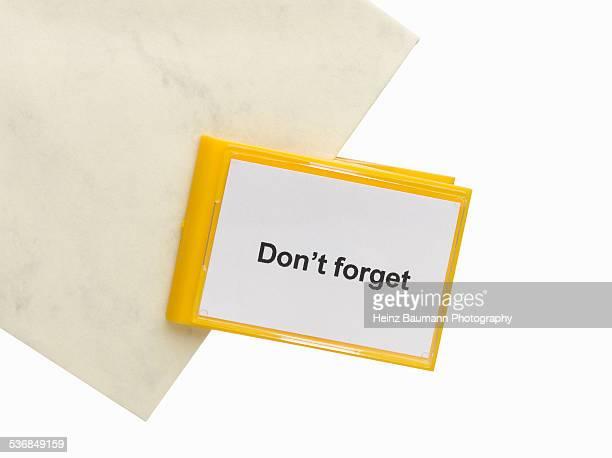 do not forget - remember - heinz baumann photography stock-fotos und bilder