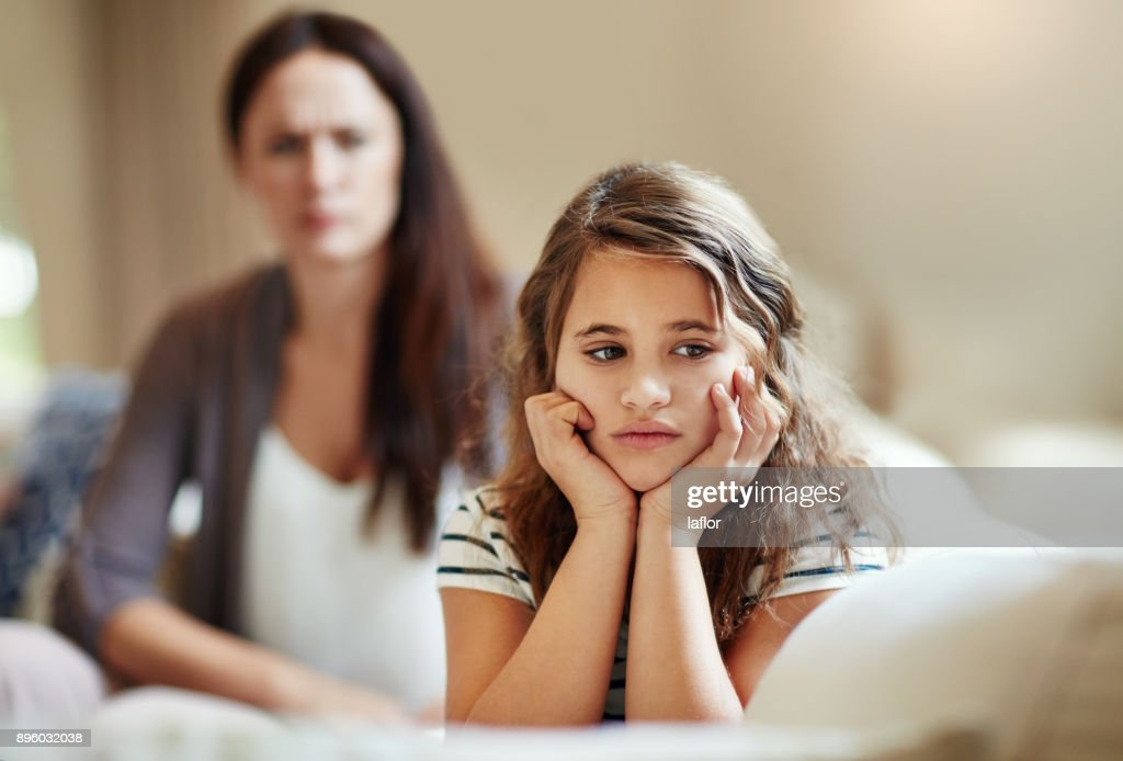 Do not ignore me when I am talking : Stock Photo