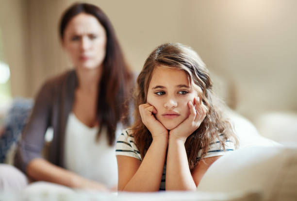 do not ignore me when i am talking - parent ignoring child stock pictures, royalty-free photos & images