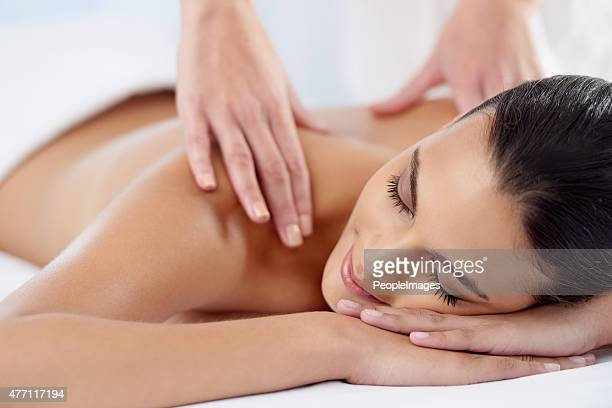 do something nice for yourself - massage stock photos and pictures