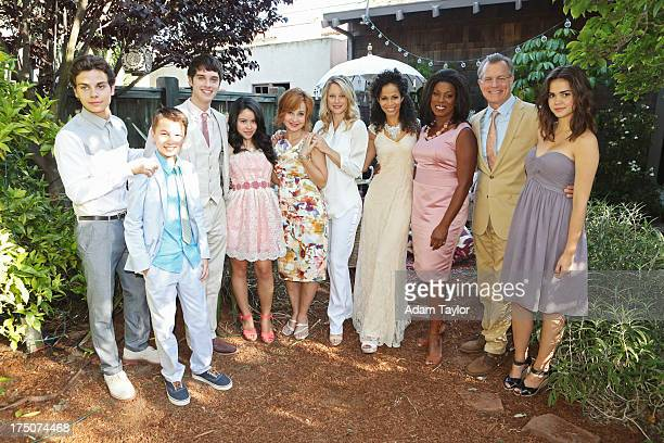 THE FOSTERS 'I Do' Stef and Lena's parents arrive amidst a frenzy of weddingplanning in 'The Fosters' season finale airing Monday August 5th at 900pm...