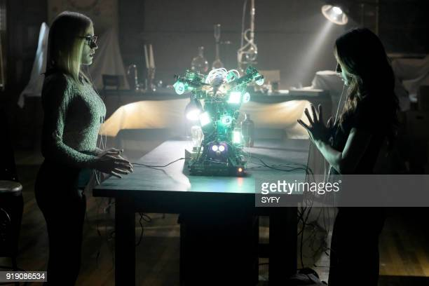 THE MAGICIANS 'Do You Like Teeth' Episode 306 Pictured Olivia Taylor Dudley as Alice Stella Maeve as Julia Wicker