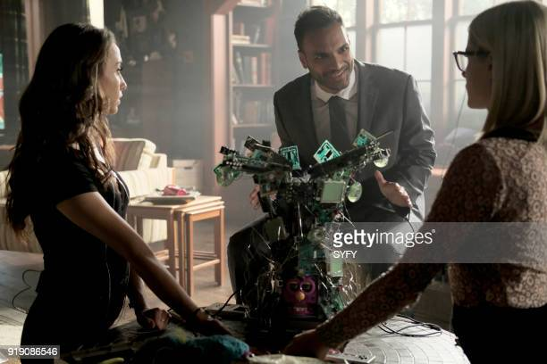 THE MAGICIANS 'Do You Like Teeth' Episode 306 Pictured Stella Maeve as Julia Wicker Arjun Gupta as Penny Adiyodi Olivia Taylor Dudley as Alice