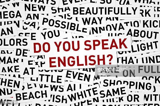英語を話しますか?