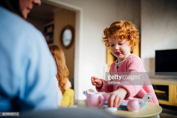 do you take sugar? - tea party stock pictures, royalty-free photos & images