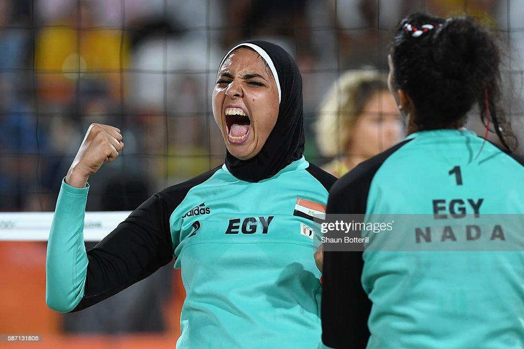 Beach Volleyball - Olympics: Day 2 : News Photo