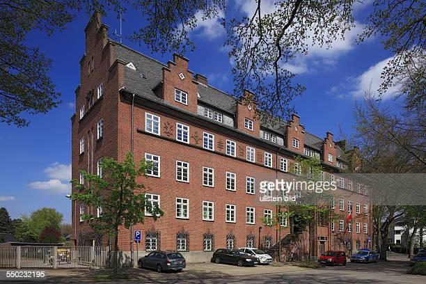 DOberhausen DOberhausenSterkrade North RhineWestphalia NRW police presidency Sterkrade brick building