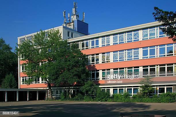 DOberhausen Ruhr area Lower Rhine Rhineland North RhineWestphalia NRW school building Bertha von Suttner gymnasium