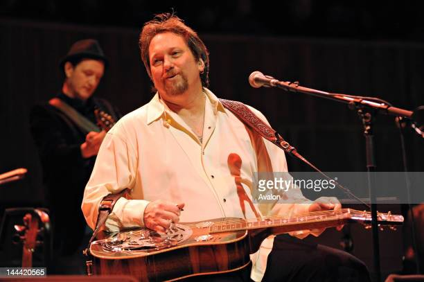 Dobro legend Jerry Douglas performing live with Transatlantic Sessions at the Royal Festival Hall London on 6 February 2010 Job 82190 Ref HDR Non...