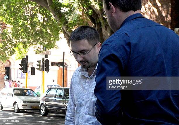 Dobrosav Gavric a Serbian fugitive seeking refugee status in South Africa appeared in the Cape Town magistrates court on January 16 2012 in Cape Town...