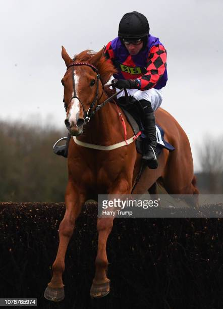 Doc Carver ridden by Jeremiah McGrath on their way to winning the interbet.com At Betting Sites bettingsites.ltd.uk Handicap Chase at Chepstow...
