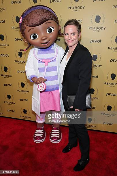 Doc McStuffins and Creator and Executive Producer of Doc McStuffins Chris Nee attend The 74th Annual Peabody Awards Ceremony at Cipriani Wall Street...