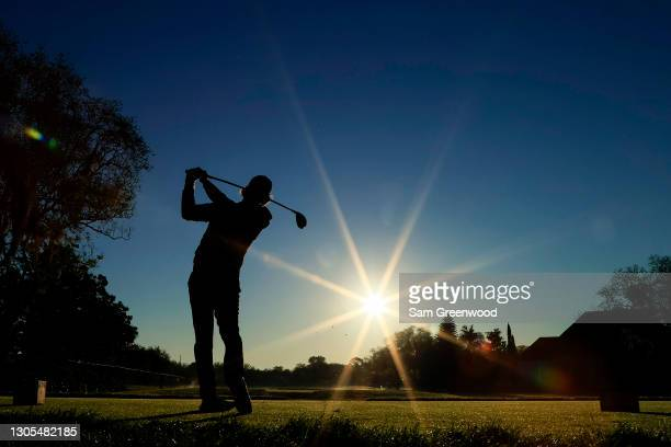 Doc Redman of the United States plays his shot from the 11th tee during the second round of the Arnold Palmer Invitational Presented by MasterCard at...