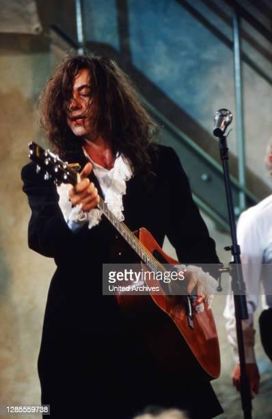 Dock 11, Sendereihe mit Musik aus Hamburg, Sendung vom 11. Juni 1990, Mitwirkender: Bob Geldof.