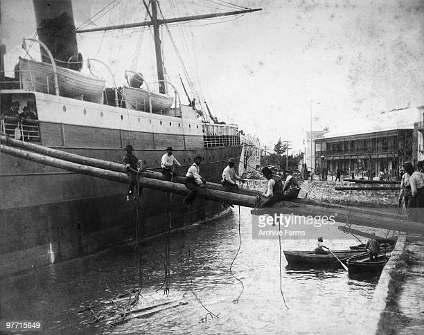 Dock at St Georges Bermuda