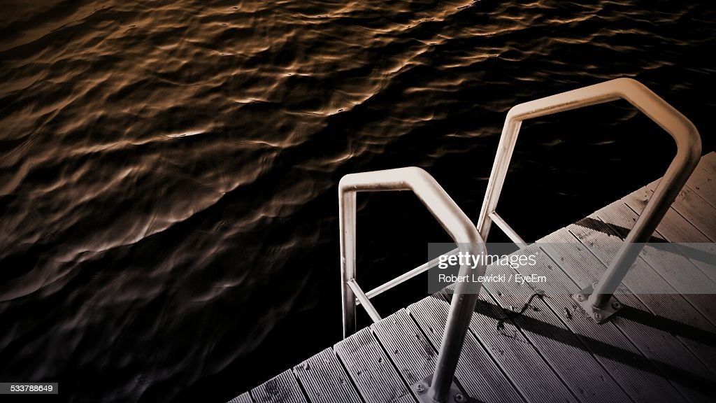 Dock Ladder : Foto stock