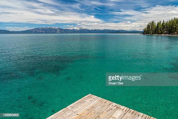 Dock, Lake Tahoe, USA