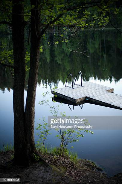 dock - espoo stock pictures, royalty-free photos & images