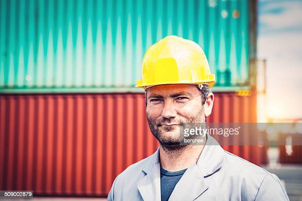 dock worker - dock worker stock photos and pictures